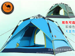 camel tents camel automatic outdoor tents 3 4 person family tent hydraulic