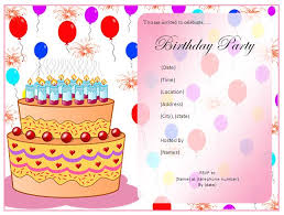 create birthday party invitations theruntime com