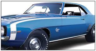1969 camaro fender 1969 chevrolet camaro parts emblems and decals stencils and
