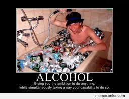 Meme Alcoholic Guy - alcohol turning lamebos into rainbows