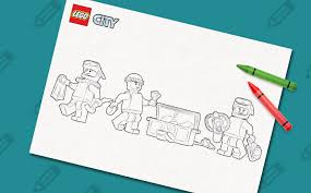60092 deep sea submarine colouring lego activities