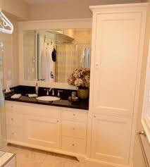 Kent Bathroom Vanities by Maple Vanity With Linen Tower Single Bathroom Vanity With Tower