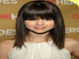 hairstyles medium length round face medium length layered haircut for round face pic