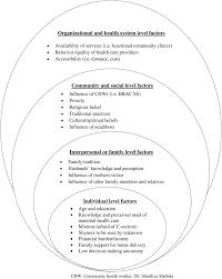 Seeking Vost Factors Influencing Adolescent Maternal Health Care Seeking
