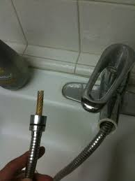 My Kitchen Faucet Is Leaking Plumbing Why Does My New Replacement Pull Out Kitchen Faucet