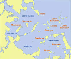 map of the islands maps boston harbor islands