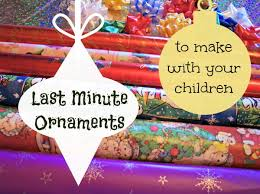 12 last minute paper ornaments that children can make prepares