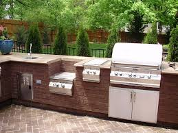 outdoor kitchen backsplash modern outdoor kitchen ideas wooden backsplash china decorations