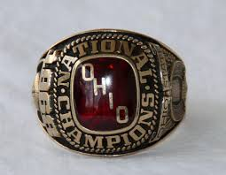 ohio state alumni ring sports auctions