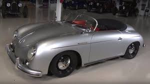 jay leno tries a porsche speedster replica with an unusual engine