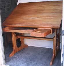vintage wood drafting table vintage wood drafting table custom solid wood drafting tab flickr