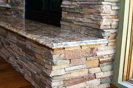 Fake Outdoor Fireplace - dry stacked stone fireplace stack ideas fake pictures u2013 thesrch info