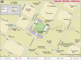grand central terminal map grand central station map grand central terminal map york city
