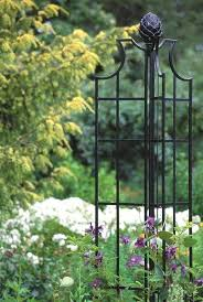metal garden obelisk home design ideas and pictures