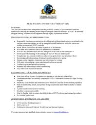 Welders Resume Cwi Resume Free Resume Example And Writing Download