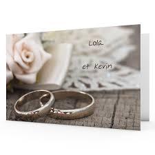 mariage alliance faire part mariage personnalisés alliances coeurs carteland