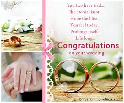 free wedding cards congratulations a wedding congratulation card for the congrats