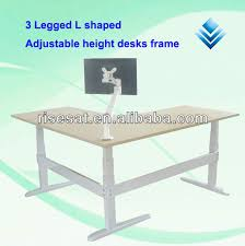 L Shaped Adjustable Height Desk Height Adjustable Desk Frame Height Adjustable Desk Frame