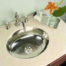 Hammered Silver Bathroom Sink 24 Inch Artisan Hammered Nickel Undermount Bathroom Sink 24
