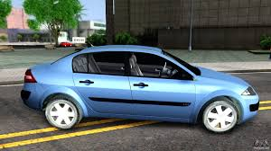 renault sedan 2016 renault megane sedan for gta san andreas