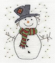 Snowman Cross Stitch Pattern Gallery Ru фото 4 7