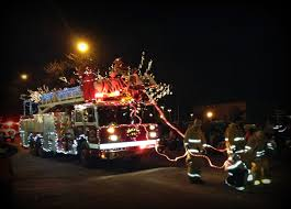 Fire Trucks Decorated For Christmas Christmas Parade Decorations For Cars Christmas Lite Up Warms