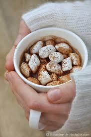 la cuisine de nathalie chocolat chaud marshmallow recette facile la cuisine de
