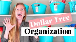 dollar tree organizing ideas and tips cheap organization tips