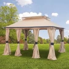 Mainstays Gazebo Replacement Parts by Garden Winds Replacement Gazebo Cover For Gazebos Sold At Sears