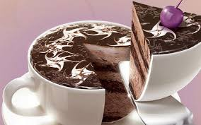 chocolate birthday cake hd desktop wallpaper