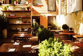 Farm Table Restaurant Nyc Garden Restaurants Dining In A Secret Oasis Am New York