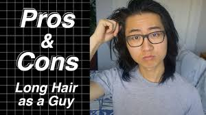 growing long hair for a guy mens hairstyle tips youtube