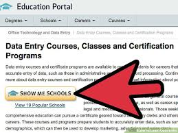how to learn data entry 8 steps with pictures wikihow