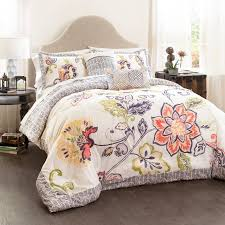 aster quilted comforter coral navy 5 set king walmart