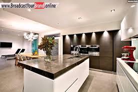 kche landhausstil modern braun wohnideen küche modern weiß braun marmor arbeitsplatte