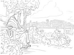 jonah coloring page jonah and the vine coloring page free printable coloring pages