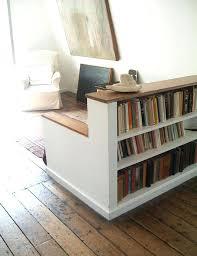 Oak Room Divider Shelves Bookcase Low Wood Bookcase Bookcase Corner Floating Wall