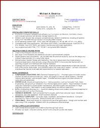 Resume Format First Job by Resume Template After First Job