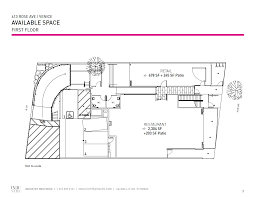 retail space floor plans 613 rose ave los angeles ca 90291 storefront retail