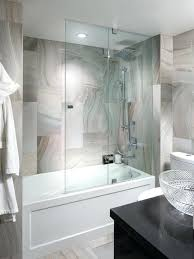 Bathtubs With Glass Shower Doors Home Depot Tub Shower Door Bathtub With Shower Tub And Shower