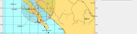 Map Of Baja California Baja California Takes Direct Hit From Hurricane Newton News From