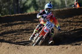 honda racing motocross long and wilson bound for conondale with the crankt protein honda
