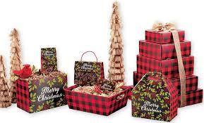 gift boxes christmas christmas plaid gift and shipping boxes box and wrap