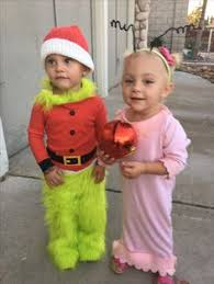 Baby Grinch Halloween Costume Cindy Lou Grinch Hair Sister
