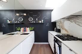 chalkboard paint in kitchen ideas kitchen contemporary with mirror