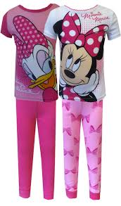 Minnie Mouse Clothes For Toddlers Webundies Com Disney Minnie Mouse And Daisy Duck 4 Piece Toddler