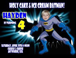 Personalized Invitation Card For Birthday Batman Birthday Invitations U2013 Gangcraft Net