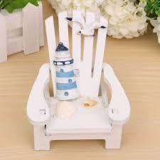 wood decoration mediterranean style wooden mini chair