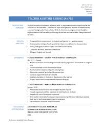 web developer resume example best assistant teacher resume example livecareer template teaching assistant resume samples templates and job descriptions science teacher assistant resume