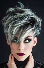 gray frosted hair nail your reference part 284